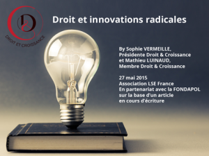 Droit et Innovations Radicales