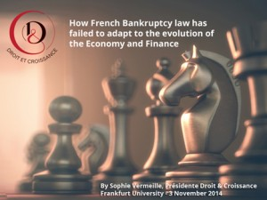 How french Bankruptcy Law has failed