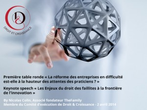 Première Table Ronde – La réforme des entreprises en difficultés