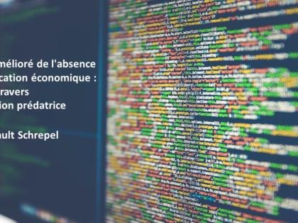 Le test amélioré de l'absence de justification économique : étude à travers l'innovation prédatrice