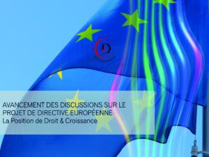 Note sur l'état d'avancement des discussions sur le projet de directive européenne