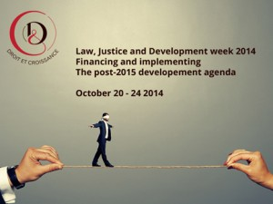 Law, Justice and Development week