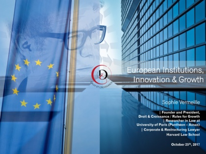 European Institutions, Innovation and Growth