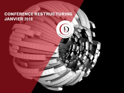 January 19, 2018 – International restructuring symposium
