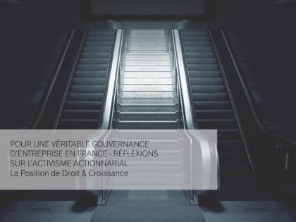 Pour une véritable gouvernance d'entreprise en France